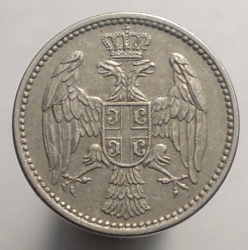 Монета > 5пара, 1883-1917 - Сербия  - reverse