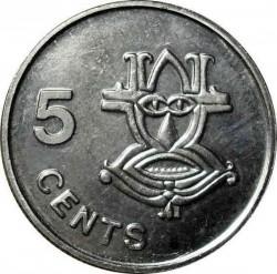 Münze > 5Cent, 1993-2005 - Salomon Inseln  - reverse