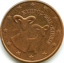 Münze > 5Eurocent, 2008-2018 - Zypern  - obverse