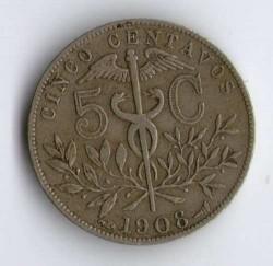 Münze > 5Centavos, 1908 - Bolivien  - reverse