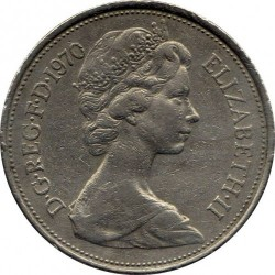 Coin > 10newpence, 1968-1981 - United Kingdom  - obverse