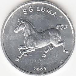 Moneda > 50luma, 2004 - Nagorno Karabaj  (Caballo) - reverse