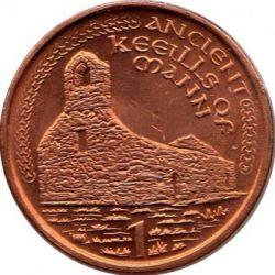 Pièce > 1penny, 2000-2003 - Île de Man  - reverse