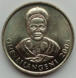 Moneta > 1lilangeni, 1995-2009 - Suazi  - reverse