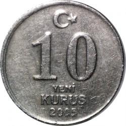 Coin > 10newkurus, 2005 - Turkey  - obverse
