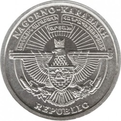 Moeda > 1dram, 2004 - Nagorno-Karabakh  (Saint Gregory) - obverse