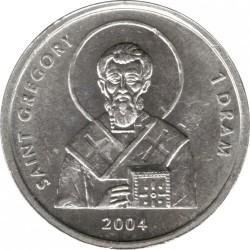 Moeda > 1dram, 2004 - Nagorno-Karabakh  (Saint Gregory) - reverse