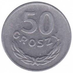 Moneta > 50groszy, 1972 - Polska  - obverse