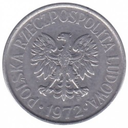 Moneta > 50groszy, 1972 - Polonia  - reverse