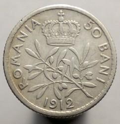 錢幣 > 50巴尼, 1910-1914 - 羅馬尼亞  - reverse