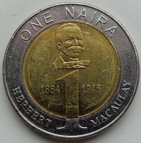 1 Naira 2006 Nigeria Coin Value