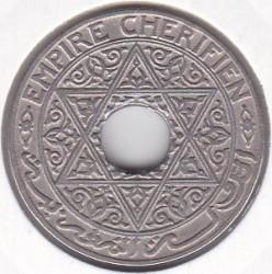 Монета > 25сантима, 1921-1924 - Мароко  - obverse