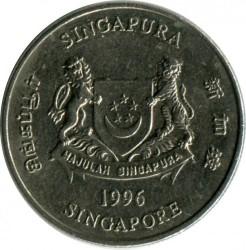 Moneta > 20centesimi, 1992-2012 - Singapore  - reverse