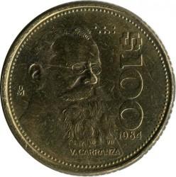 Coin > 100pesos, 1984 - Mexico  - obverse