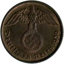 Coin > 2reichspfennig, 1936-1940 - Germany - Third Reich  - reverse
