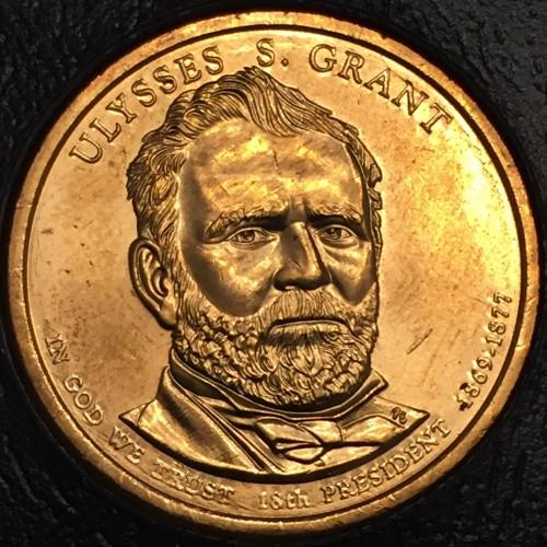 2011-P $1 Ulysses S Grant  Presidential Dollar