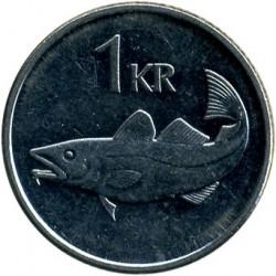 Mynt > 1krona, 2003 - Island  - obverse