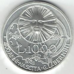 Moneta > 1000lirów, 1998 - Włochy  (400 rocznica urodzin - Gian Lorenzo Bernini) - reverse
