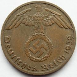 מטבע > 1רייכפפניג, 1936-1940 - גרמניה - הרייך השלישי  - obverse