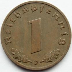 מטבע > 1רייכפפניג, 1936-1940 - גרמניה - הרייך השלישי  - reverse