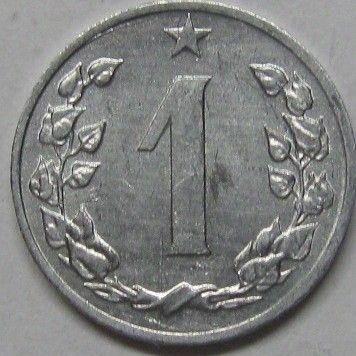 1 Heller 1962 1986 Tschechoslowakei Münzen Wert Ucoinnet