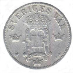 Münze > 10Öre, 1907 - Schweden   - reverse