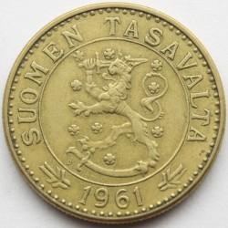 Münze > 20Mark, 1961 - Finnland  - obverse