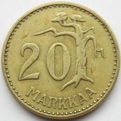 Münze > 20Mark, 1961 - Finnland  - reverse
