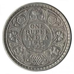 Moneta > 1rupija, 1912-1922 - Indija - Britų  - reverse