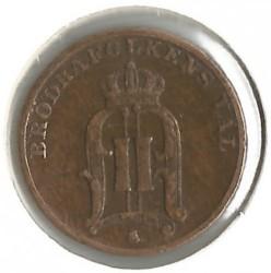Coin > 1öre, 1879-1905 - Sweden  - reverse