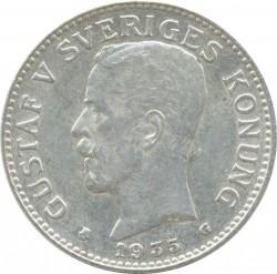 Mynt > 2kroner, 1935 - Sverige  - obverse