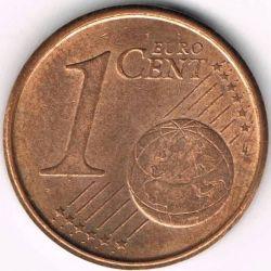 Монета > 1євроцент, 1999-2009 - Іспанія  - reverse