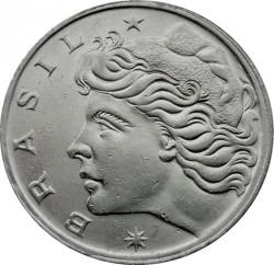 Coin > 1cruzeiro, 1970 - Brazil  - obverse