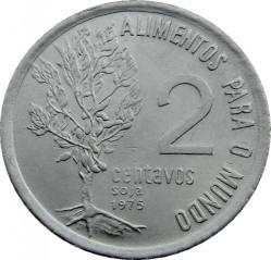 Moneta > 2centavos, 1975-1978 - Brazylia  (Seria FAO - Soja) - reverse