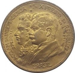 Монета > 500рейса, 1922 - Бразилия  (100th Anniversary - Independence of Brazil) - obverse
