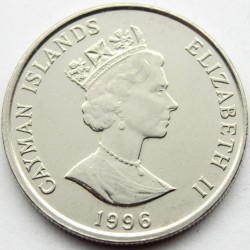 Coin > 10cents, 1992-1996 - Cayman Islands  - obverse
