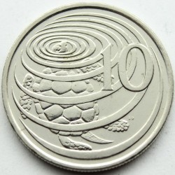 Coin > 10cents, 1992-1996 - Cayman Islands  - reverse