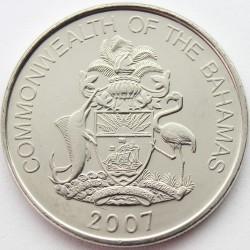 Münze > 25Cent, 2007-2015 - Bahamas  - obverse