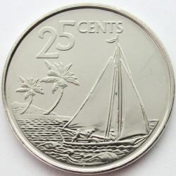 Münze > 25Cent, 2007-2015 - Bahamas  - reverse