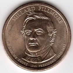 Coin > 1 dollar, 2010 - USA  (13th President of the USA - Millard Fillmore (1850-1853)) - obverse