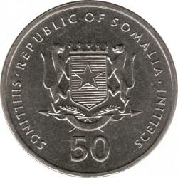 Munt > 50shillings, 2002 - Somalië  - obverse