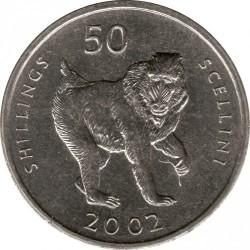 Munt > 50shillings, 2002 - Somalië  - reverse