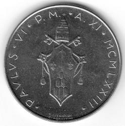 Minca > 100lire, 1970-1977 - Vatikán  - obverse