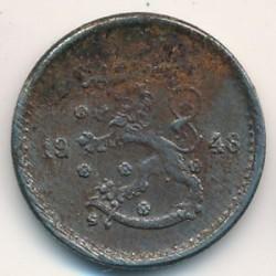 Münze > 50Penny, 1948 - Finnland  - obverse
