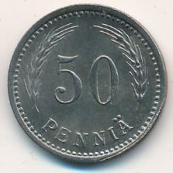 Münze > 50Penny, 1948 - Finnland  - reverse