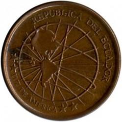 Münze > 1Centavo, 2003 - Ecuador   (Stahl, Kupfer plattiert / magnetisch) - obverse