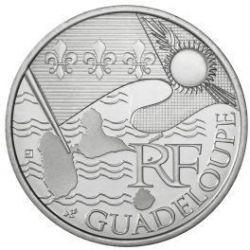 Moneda > 10euros, 2010 - Francia  (Regiones franceses - Guadalupe) - obverse