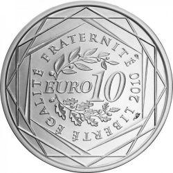 Moneda > 10euros, 2010 - Francia  (Regiones franceses - Guadalupe) - reverse