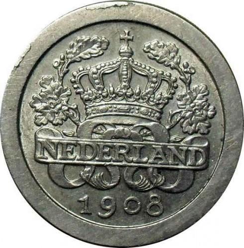 5 Cent 1907 1909 Niederlande Münzen Wert Ucoinnet