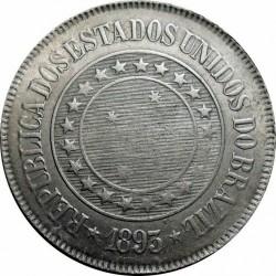 Moneda > 200réis, 1889-1900 - Brasil  - obverse